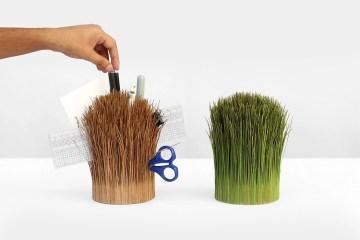 把自然帶上桌:印度設計師 Outside/Inside 以植物做出新收納物品型態