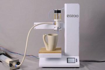 用微波爐就能燒成!Cerambot 推出新型陶瓷 3D 列印機 Eazao