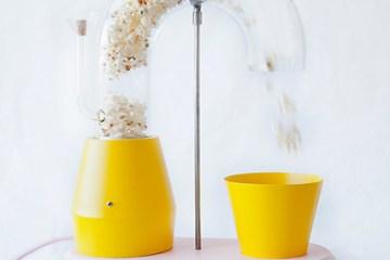 好吃也要好看!充滿童趣的爆米花機設計
