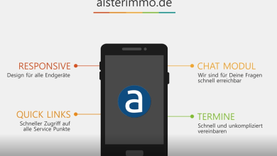 Photo of alsterimmo responsive design