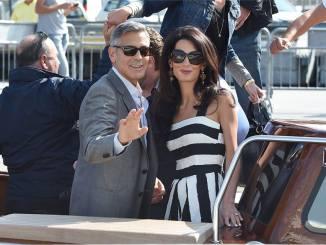 Clooney e moglie 2
