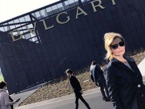 Isabella Ferrari 'madrina' del nuovo stabilimento Bulgari a Valenza CorriereAl