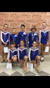 Asd Pattinaggio Artistico Aurora al Campionato provinciale artistico di Castelletto d'Orba CorriereAl