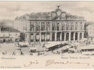 Piazza Rattazzi, Caffè dell'Aquila, Palazzo Municipale, Teatro Municipale e Lucia Lunati #14 [Un tuffo nel passato] CorriereAl