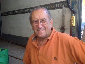 Arturo Forlini, ambulante da 65 anni CorriereAl