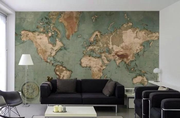 20 cartes du monde geantes a poser sur