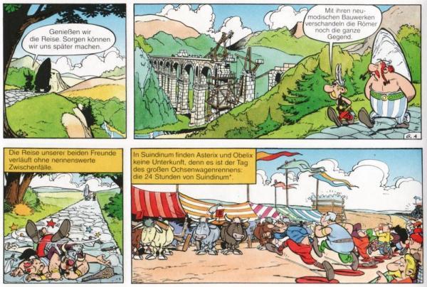 Alleine der Weg nach Lutetia ist mit Abenteuern gespickt. Inklusive dem 24-Stunden-Wagenrennen von Suindinum, was dem heutigen Le Mans entspricht.