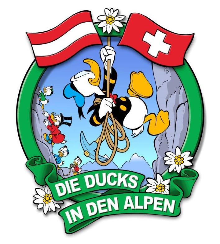 Ducks in den Alpen