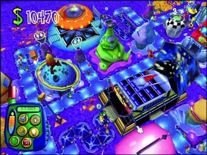 18 Theme Park World