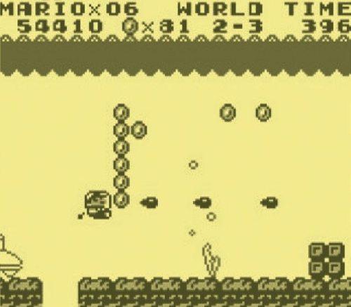 Klempner bleibt bei denen Rohren? Ein Novum: Mario steigt im laufe des Spiels in ein Uboot und in ein Flugzeug!