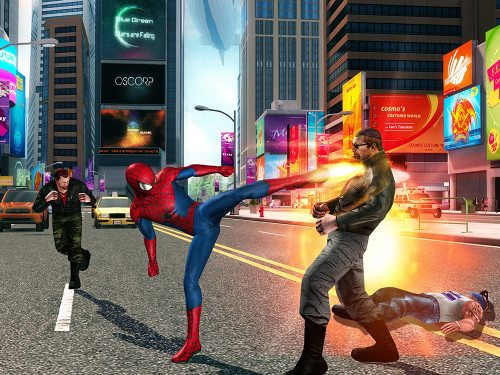 spider-man mobile screen 1