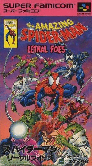 The Amazing Spider-Man: Lethal Foes (Super Famicom)