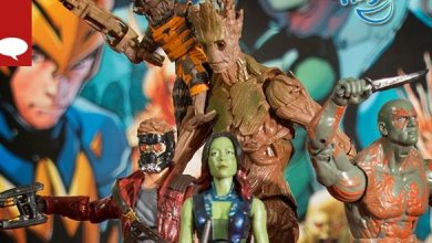 Bild von Comic-News: Hasbro zeigt neue Actionfiguren zu Guardians of the Galaxy