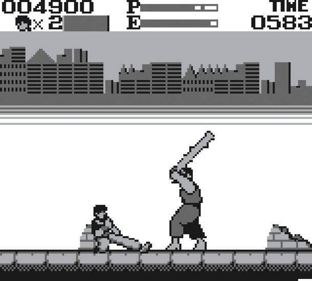 Kung Fu am GameBoy