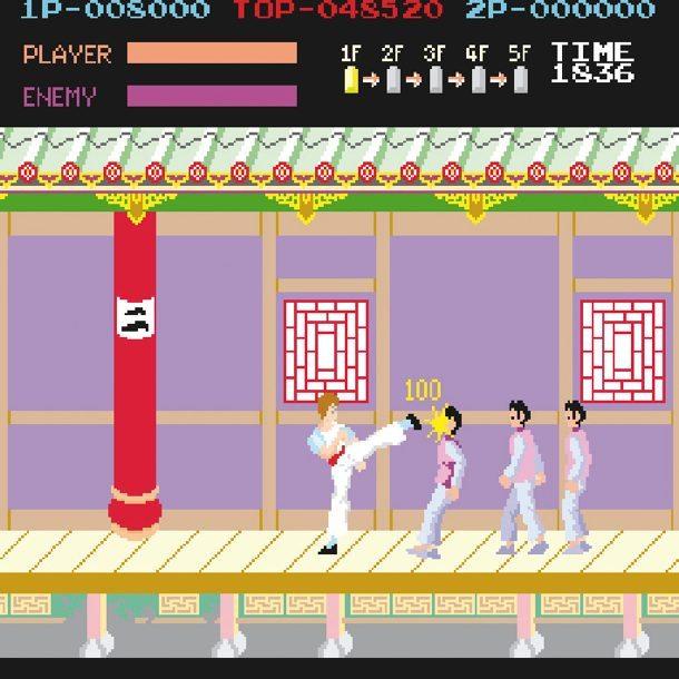 Kung Fu Master in der Arcade