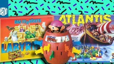 Photo of Special: Brettspiele der 80er und 90er (Atlantis, Das verrückte Labyrinth, Heimlich & Co.,… )