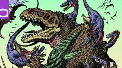 Bild von TV-News: Concept Art zu nie realisierter Jurassic-Park-Zeichentrickserie veröffentlicht