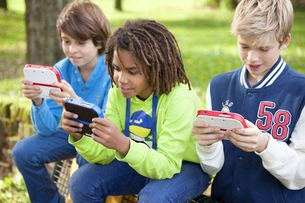 In Kinderhänden wird der 2DS schnell der ideale Einstieg in die Nintendo Spielewelt.