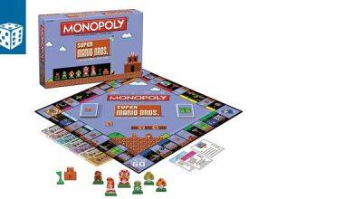 Bild von Brettspiel-News: 8-Bit Super Mario Monopoly angekündigt
