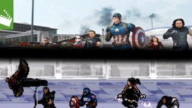 Bild von Film-News: Captain America: Civil War – Neuer 8-Bit Trailer veröffentlicht