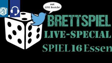 Photo of Brettspiel-Spezial von der SPIEL16 in Essen (3 Podcasts in 3 Tagen)