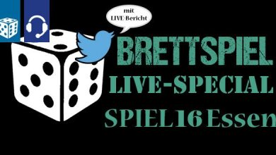 Bild von Brettspiel-Spezial von der SPIEL16 in Essen (3 Podcasts in 3 Tagen)