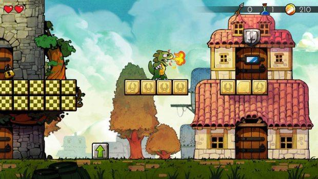 Game: Wonder Boy: The Dragon's Trap (PS4/Nintendo Switch)