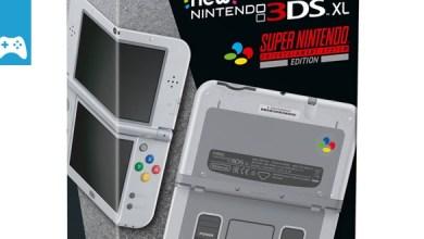 Bild von Jetzt schnell sein und vorbestellen! New Nintendo 3DS XL Konsole SNES Edition