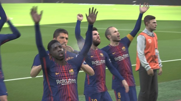 Pro Evolution Soccer 2018 PES 2018 Konami Review Test
