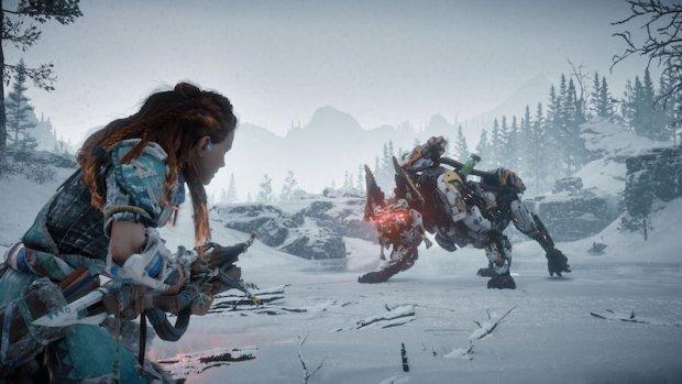 Horizon Zero Dawn: The Frozen Wilds Review Test