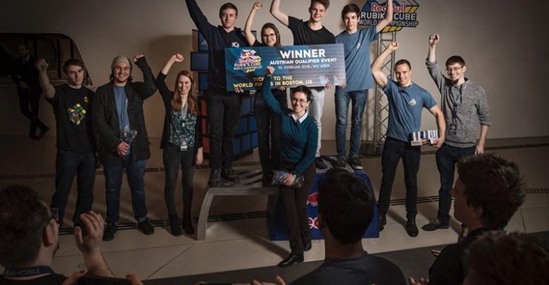 Die glücklichen Gewinner. (Foto: Markus Berger / Red Bull Content Pool)