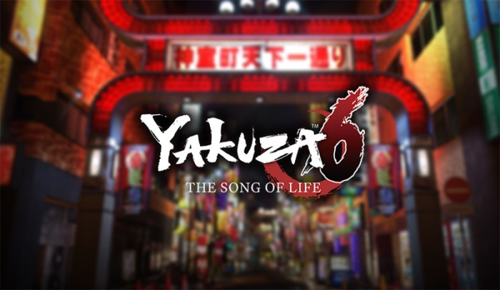 Games: Yakuza 6 (PS4)