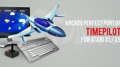 Photo of Arcade Klassiker Timepilot für Atari XL/ XE erschienen
