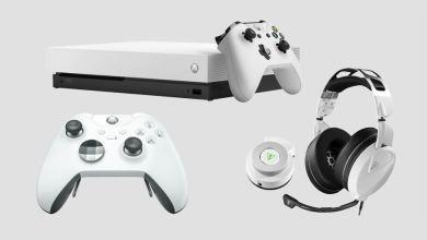 Photo of Xbox One X Bundle in Robot White und weißer Elite-Controlle angekündigt