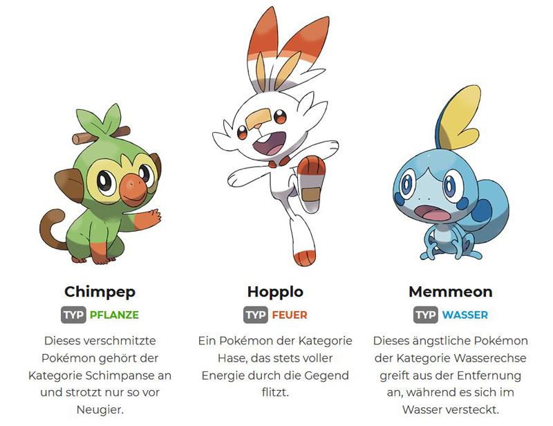 Pokemon Schwert Und Schild Starter Weiterentwicklungen