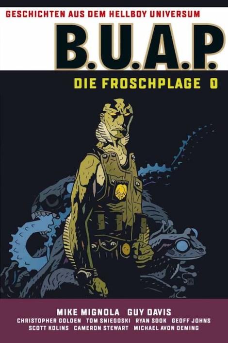 "Cover zu ""B.U.A.P. - Die Froschplage 1"" | Copyright by Cross Cult"