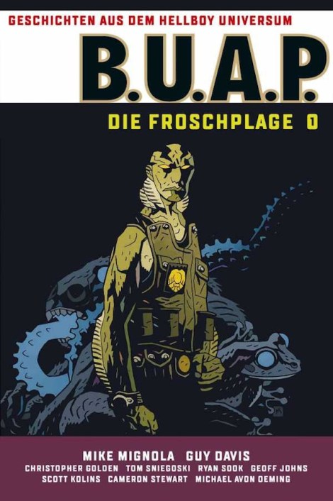 "Cover zu ""B.U.A.P. - Die Froschplage 1"" 