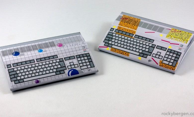 Einfacher Amiga mit 68000 Prozessor aus dem Jahr 1992