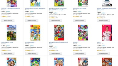 Photo of Amazon-Tipp: 3 Nintendo Switch Spiele für 111 Euro (Partnerlink)