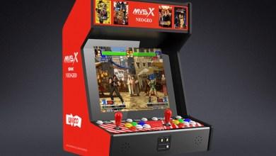 Bild von SNK NEOGEO MVSX Home Arcade Bartop Automat mit 50 Spielen angekündigt