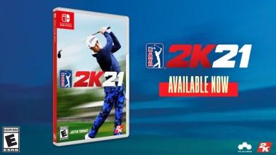 Bild von PGA TOUR 2K21 physisch für Nintendo Switch erschienen