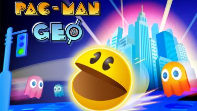 Bild von PAC-MAN GEO ab heute für Apple iOS und Google Android verfügbar