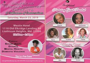 Girlfriend Therapy Conference @ The Westin Hotel