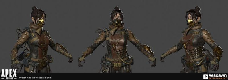 Wraith assassina eterea