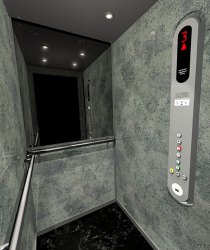 modlisation ascenseur 3D
