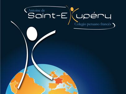 Identité visuelle et site web : école Antoine de Saint-Exupéry