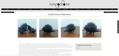 Page de description d'objet