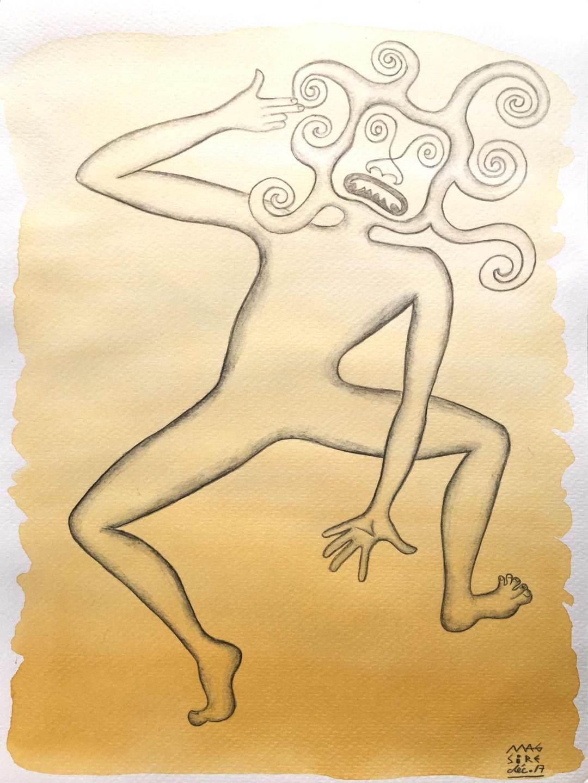 Possédé(e) par Ai-Apaec | 18 cm x 24 cm