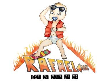 Faire part de Rafael