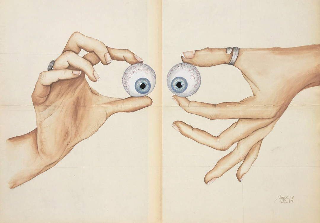 Louche avec les mains | 50 cm x 70 cm